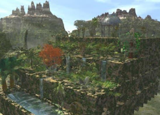 Taman-Gantung-Babilonia