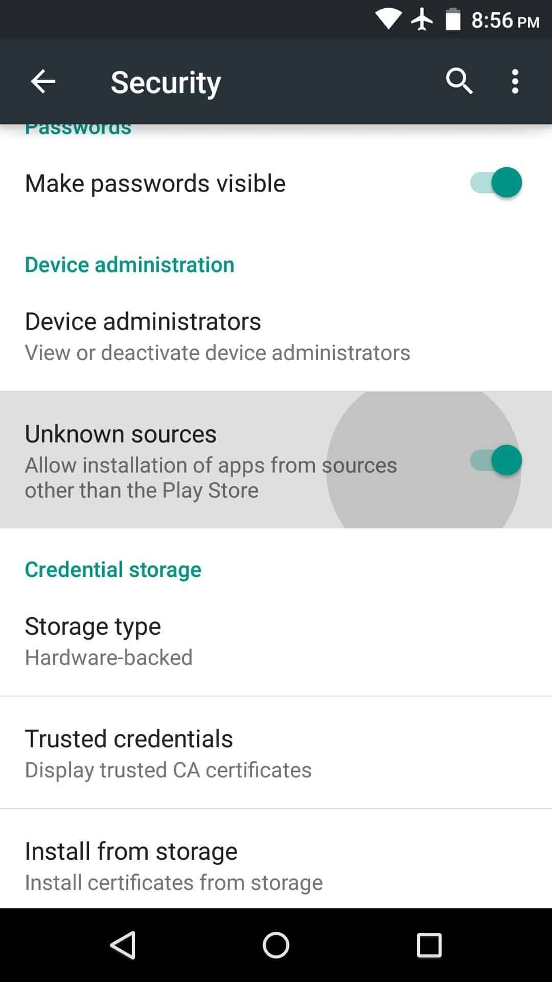 Cari-Install-from-Unknown-Source